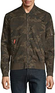 superdry men's rookie duty fleece lined bomber jacket