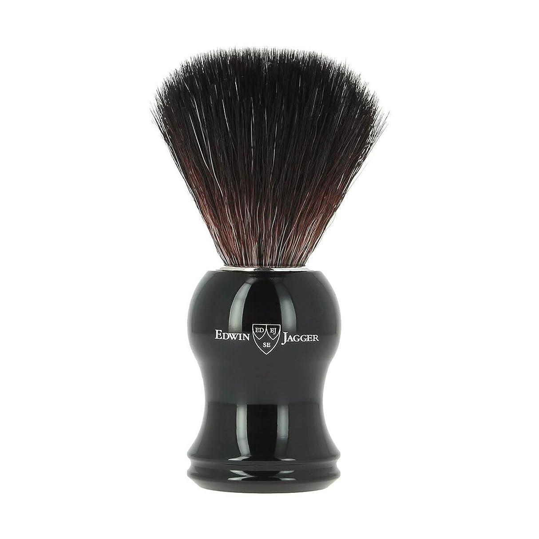 胴体テクニカル反発エドウィンジャガー エボニー 合成 シェービングブラシ21P36[海外直送品]Edwin Jagger Ebony Synthetic Shaving Brush 21P36 [並行輸入品]