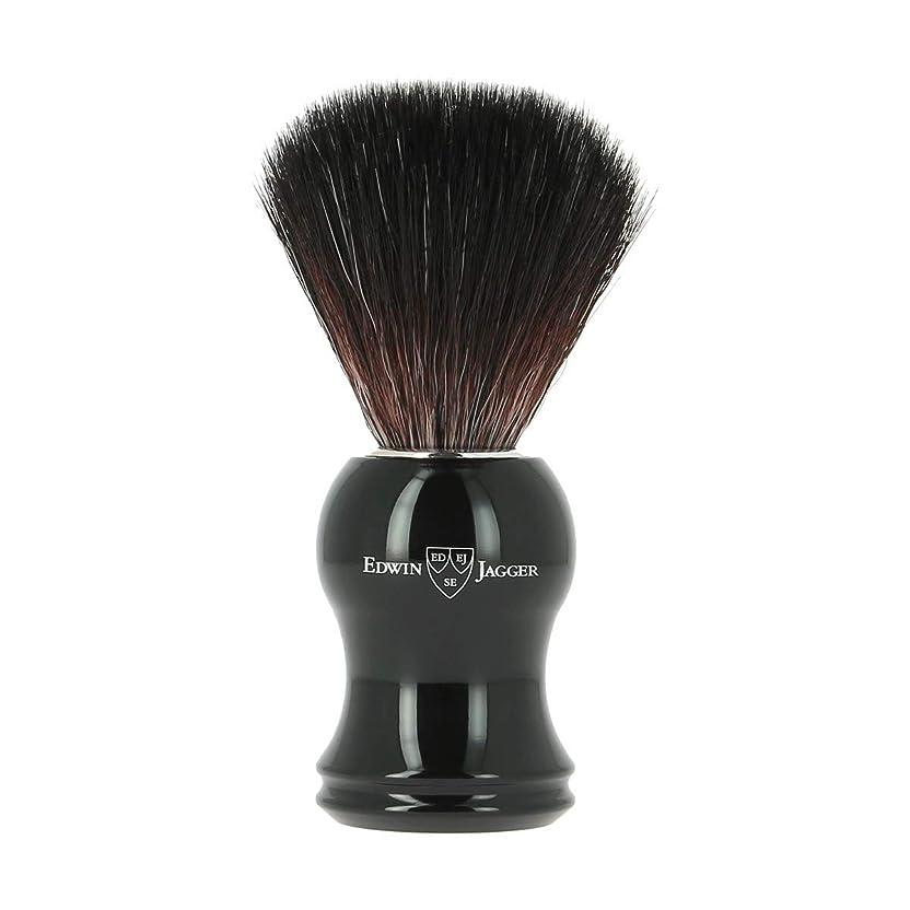 動力学口径変動するエドウィンジャガー エボニー 合成 シェービングブラシ21P36[海外直送品]Edwin Jagger Ebony Synthetic Shaving Brush 21P36 [並行輸入品]