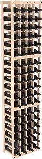 Wine Racks America Pine 4 Column Wine Cellar Kit. Unstained