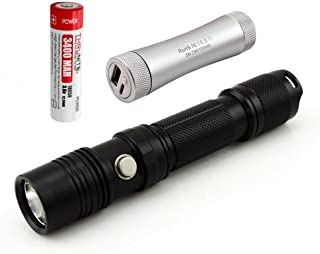 ThruNite TN12 Cool White EDC LED Flashlight Max Output 1100 ANSI Lumen with Cree XP-L LED 5 Versatile Modes Waterproof to IPX-8 C2 Portable Charger