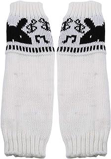 LALANG Women Knitted Arm Sleeve Fingerless Winter Gloves Soft Warm Mitten