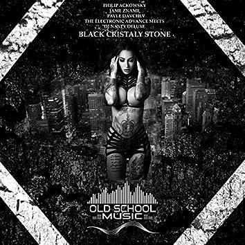 Black Cristaly Stone