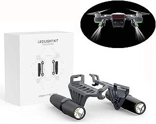 LED Light Kit Small Flashlight Accessories for DJI Spark Drone Long-Range Luminosity Adjustable Light