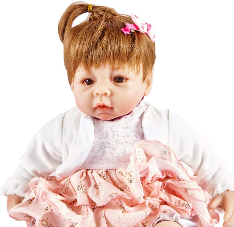 mejor moda NACHEN Reborn muñeca 40cm simulación Lindo Realista Silicona Vinilo Vinilo Vinilo Niños recién Nacidos Regalo muñecas  los clientes primero