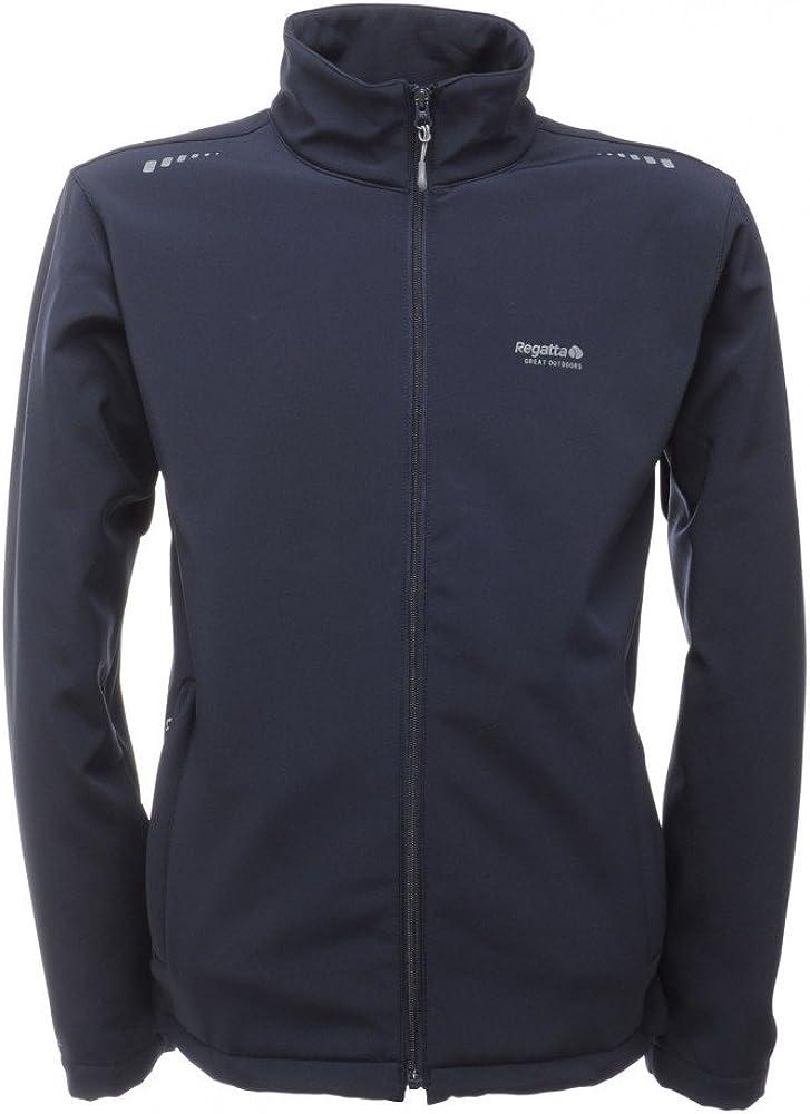 Regatta Men/'s Cera V Durable Outdoors Wind Resistant Softshell Summer Jacket