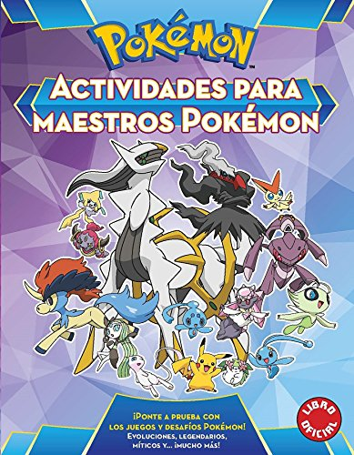 Actividades para maestros Pokémon (Colección Pokémon)