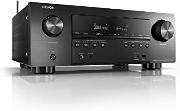 Denon AVR-S950H Receiver, 7.2 Channel (185W X 7) - 4K Ultra HD Home Theater (2019) | Music Streaming | New - eARC, 3D Dolb...