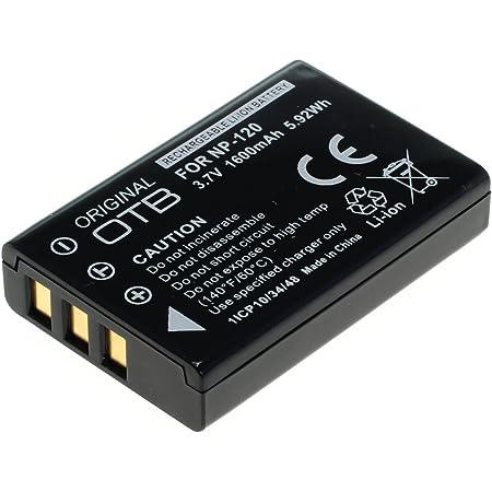 Otb Akku Für Fuji Np 120 Li Ion Schwarz Computer Zubehör