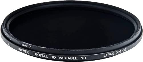 Bower FN86 Variable Neutral Density Filter 86 mm (Black)