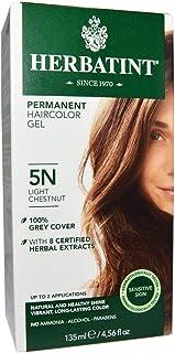 Herbatint, Permanent Haircolor Gel, 5N, Light Chestnut, 4.56 fl oz (135 ml)