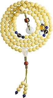 Buddhist Meditation 108 Bodhi Beads Multi Treasure Bracelet Chakra Beaded Bracelet Rosary Prayer Mala Feng Shui Wealth Bra...