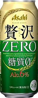 【糖質ゼロ アルコール6%】クリアアサヒ 贅沢ゼロ [ ビール [ 500ml×24本 ] ]