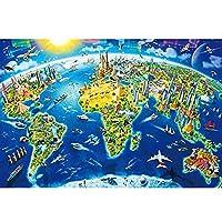 子供の教育おもちゃ ジグソーパズル - 1000ピース木製の組み立てピクチャー風景パズル大人の玩具ゲーム子供の教育玩具 キッズベビー幼児のためのギフト (Color : 054)
