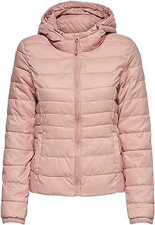 Only Onltahoe Hood Jacket Otw Noos Giacca, Rosa (Misty Rose), 46 (Taglia Produttore: Large) Donna
