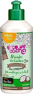 Ativador Cachos 300 ml Coco Todecacho Unit, Salon Line