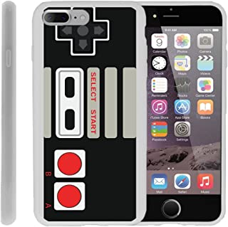 MINITURTLE Compatible with iPhone 7 Plus | iPhone 7s Plus Flexible Case [Flex Force] Flexible Slim Fit TPU Case Cover w/Dazzling Designs Retro Controller