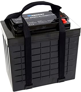 Renogy LiFePO4 Battery Lithium-Iron Phosphate LFP Battery 12 Volt 100Ah for RV, Solar, Marine, and Off-Grid Applications