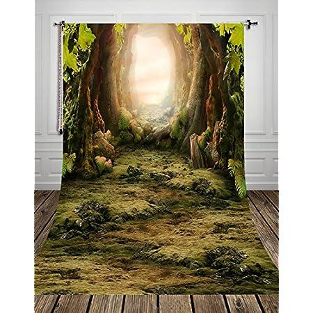 Yongfoto 1 5x2 2m Vinyl Foto Hintergrund Märchenwald Kamera