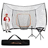 ACELETIQS Baseball Net Backstop Batting Cage Softball Pitching Bundle 17x10 Feet |...