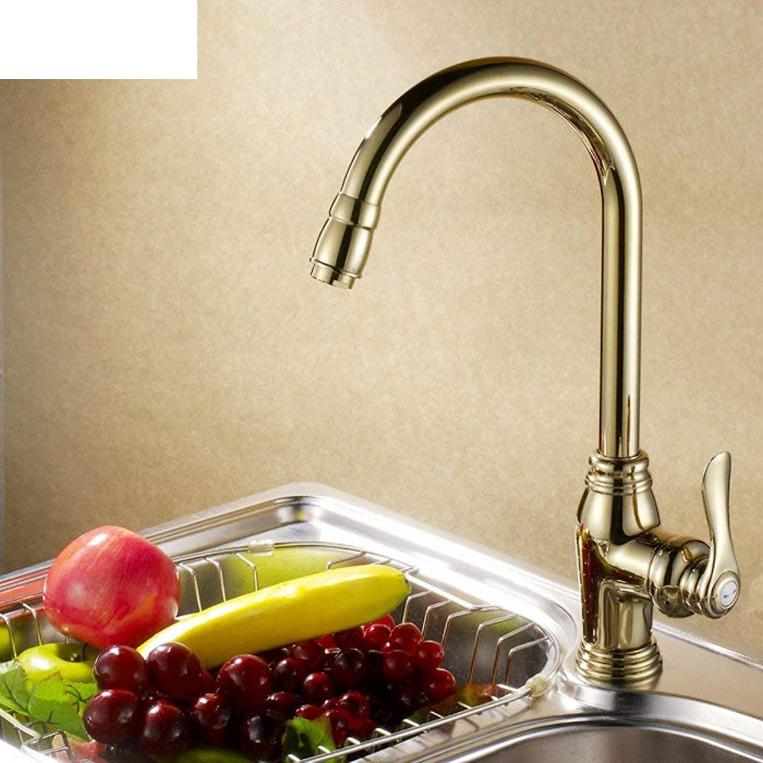 FuweiEncore Kitchen faucets Tap both hot and cold Vegetables basin faucet (color   -, Size   -)