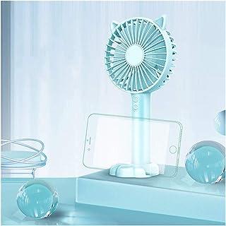 JULABO Durable Mini Ventilateur de Bande dessinée de Poche Portable USB Ventilateur électrique Titulaire du téléphone Base...
