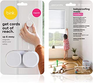 Up & Away | Magnetic Window Blind Cord Safety | x2 Pack