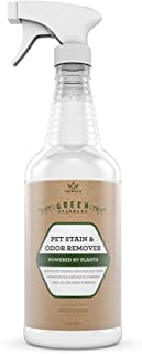 TriNova Natural Pet Stain and Odor Remover Eliminator - Advanced Enzyme Cleaner Spray - Remove Old & New Pet Stains & Smells for Dogs & Cats - All-Surface Safe