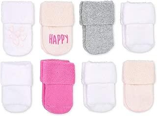 Goldbug Baby 8-Pack Super Soft and Plush Terry Cuff Socks, Unisex, Boys,Girls