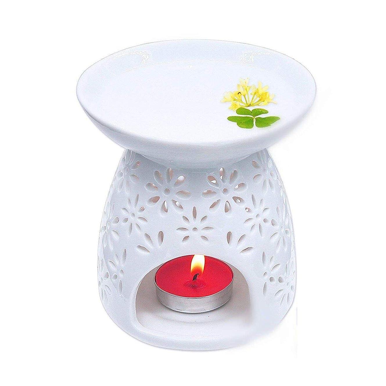 絶望的な避けられない建てるPursue 茶香炉 アロマ炉 香炉 陶器 精油 香炉置物 薫香 インテリア アロマディフューザー 中空の彫刻工 消臭と癒し おしゃれ