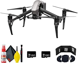 DJI Inspire 2 Quadcopter - 128GB Micro SD x2 - Memory Card Reader - Memory Card Wallet and More