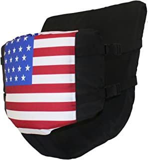 Floaty Pants Hands-Free Party Floatation Device (American Flag, L)