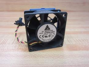 DELTA AFB0612EH 12VDC 0.48A BRUSHLESS FAN 60MM X 60MM X 25MM WITH 3 WIRES + HEAT