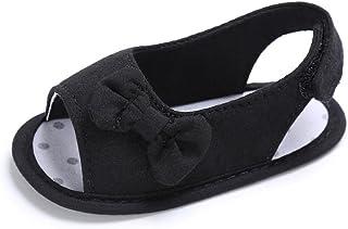 1041e32d70087c Chaussures de Bébé Sandales,🎀LuckyGirls Été Sandales Bébé Enfants Fashion  Bowknot Chaussures Bébé Semelle