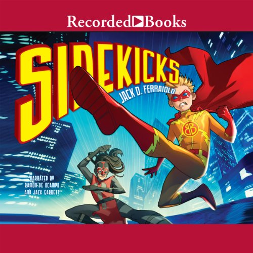 Sidekicks audiobook cover art
