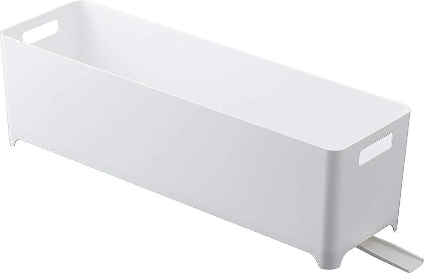 引っ張る観察するケント山崎実業(Yamazaki) 水切りラック用 ホワイト W55.5×D16.4×H16cm 4314