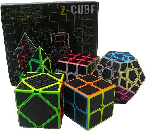 2. Ordnung 3. Ordnung Pyramidenwürfel 5-teiliges Set verdrehtes Puzzle, Lernspielzeug für Kinder Sportpuzzle für Kinder