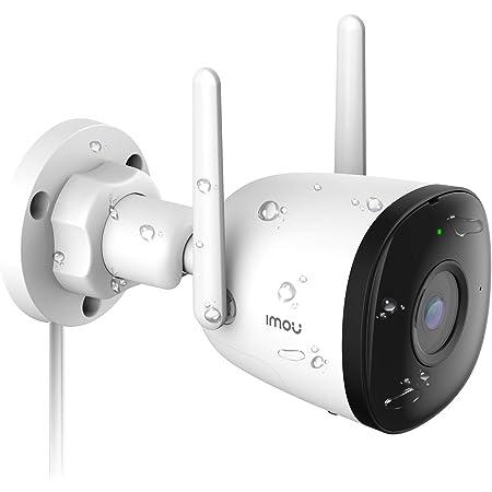 Caméra de Surveillance WiFi Extérieure Imou, 1080P Caméra IP WiFi Extérieure Étanche IP67 avec Vision Nocturne de 30m, Détection de Mouvement AI, Compatible avec Alexa Google Home (Bullet 2C)