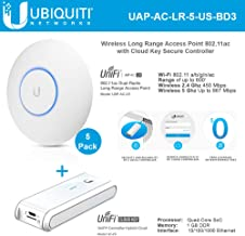 UniFi AP AC LR UAP-AC-LR-5-US Wireless Access Point 802.11ac Long Range Dual-Band with UniFi Cloud Key UC-CK Secure Controller Hybrid Cloud Key