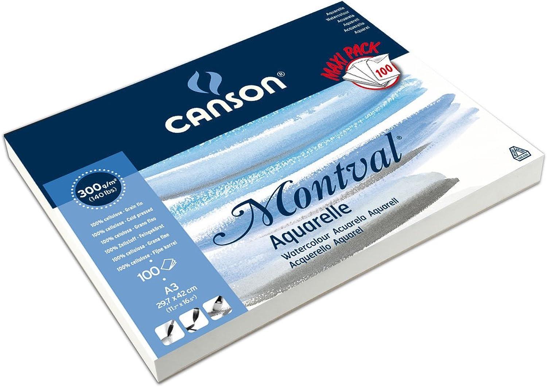 Canson 200006652 Montval Aquarellpapier, 32 x 41 cm, cm, cm, naturweiß B00PIOMZ42 | Authentisch  c9bd62