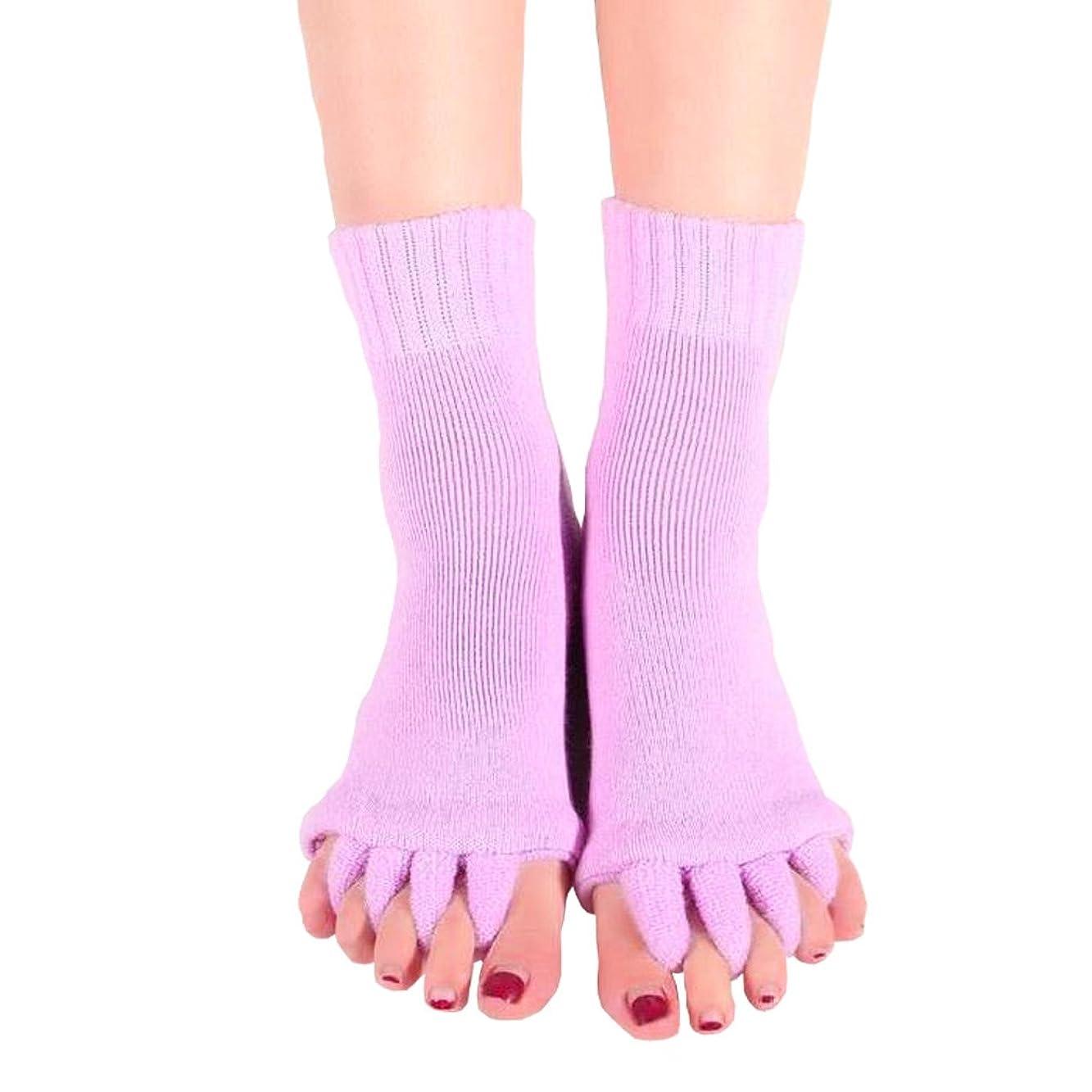 登山家知り合い分割【AMARISE】スリーピングソックス 足指全開 足指ストレッチ 足指ソックス 足指のばし 男女兼用