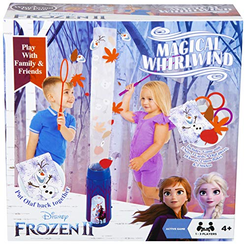 Disney Frozen 2 Juguetes para Niños con Anna Elsa y Olaf, Juego Familiar Interactivo para Interior, Juguetes Educativos Divertidos para Familias, Regalos Originales Frozen Niñas Niños 4-8 Años