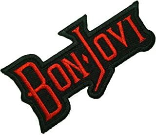 Bon Jovi Music Songs Rock Band Logo t Shirts MB14 iron on Patches
