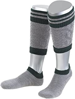 Authentic Bavarian Trachten Socks Loferl 2pcs in Grey or Nature Made in Germany