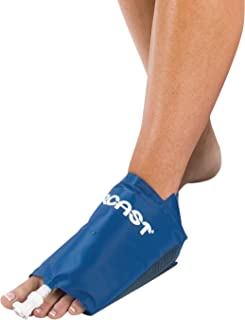 Aircast Cryo/Cuff Cold Therapy: Foot Cryo/Cuff with Non-Motorized (Gravity-Fed) Cooler