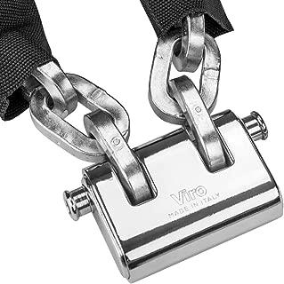 VULCAN Premium Case-Hardened Security Chain and Lock Kit (5/16
