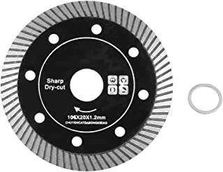 Black Diamond Turbo 72 Tooth Saw Blade for Cutting Concrete Granite Marble Tile Stone 105mm