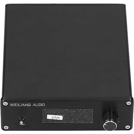 Sintonizador de Volumen, preamplificador Sintonizador de Volumen Aleación de Aluminio Negro Multicanal para el hogar y la Industria