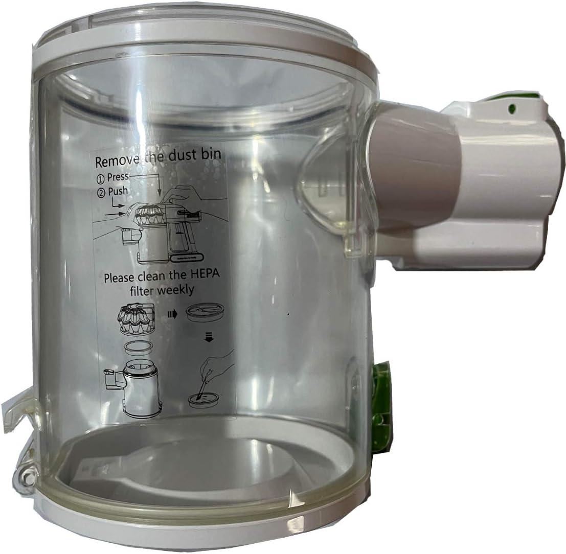 YTT Partes de aspirador accesorios aptos para Proscenic P9 Partes de aspirador cubo de polvo