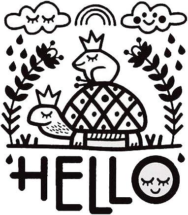 Xinyaer ウォールペーパー おしゃれ 壁紙 人気 夏 ウォール デコ 癒し 壁の装飾 北欧 壁飾り 可愛い テッカー 居間 壁画 DIY 家飾り 幼稚園 ポスター コーヒー 装飾 子供 部屋 貼り紙 動物